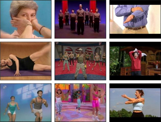 internil Gymnastikvideos
